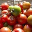 Close up fresh tomatoes - Stock Photo