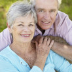 Portrait of senior couple — Stock Photo #11885596