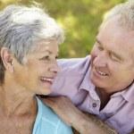 Portrait of senior couple — Stock Photo #11885599