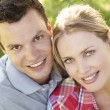 Portrait of young couple — Stock Photo #11885690