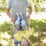 Child having fun at park — Stock Photo #11885724