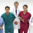 Stock Photo: Group of medical professionals