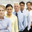 Mixed group business - Stock Photo
