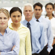 Stock Photo: Mixed group business