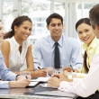 Mixed group in business meeting — Stock Photo #11886351