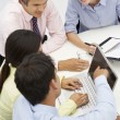 Mixed group in business meeting — Stock Photo #11886407