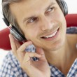 Man with headphones — Stock Photo #11886883