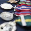 Strip of medals — Stockfoto