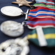 Strip of medals — Foto Stock