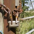 Chain and padlock — Stockfoto #11887140
