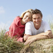 Romantic couple outdoors — Stock Photo #11889587