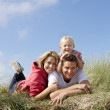 Family outdoors — Stock Photo #11889594