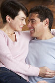 Portrait Of Romantic Young Couple — Stock Photo