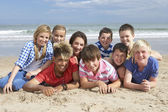 Teenagers together — Stock Photo