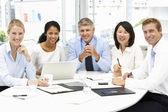 Spotkanie biznesowe w biurze — Zdjęcie stockowe
