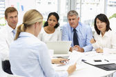 Recruitment office meeting — Stock Photo