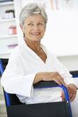 Paciente mulher sênior — Fotografia Stock