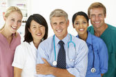 Portrait of medical professionals — Stock Photo