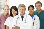 Portret van medische professionals — Stockfoto
