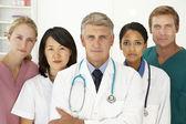 Retrato de los profesionales médicos — Foto de Stock