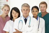 Ritratto di professionisti medici — Foto Stock