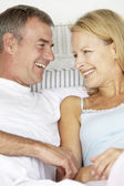 Mid age couple in love — Stock Photo