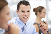 Businessman in meeting — Stock Photo