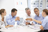 Business in meeting — Stockfoto