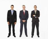 Group Of Businessmen In Studio — Stock Photo