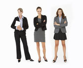 Group Of Businesswomen In Studio — Stock Photo