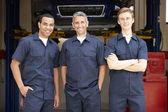 Mechanics at work — Stock Photo