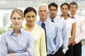 Mixed group business — Stock Photo