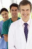 Groupe de médecins de l'hôpital — Photo