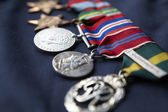 Strip of medals — Stock Photo