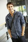 Student na vysoké škole — Stock fotografie