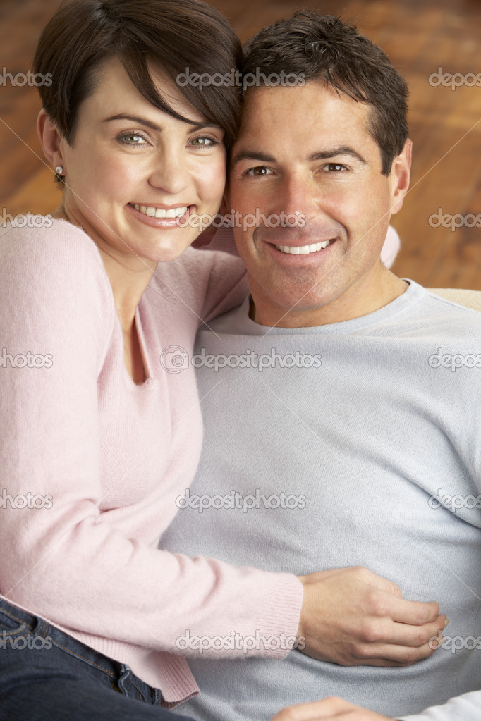 Portrait Of Romantic Young Couple — Stock Photo #11881484