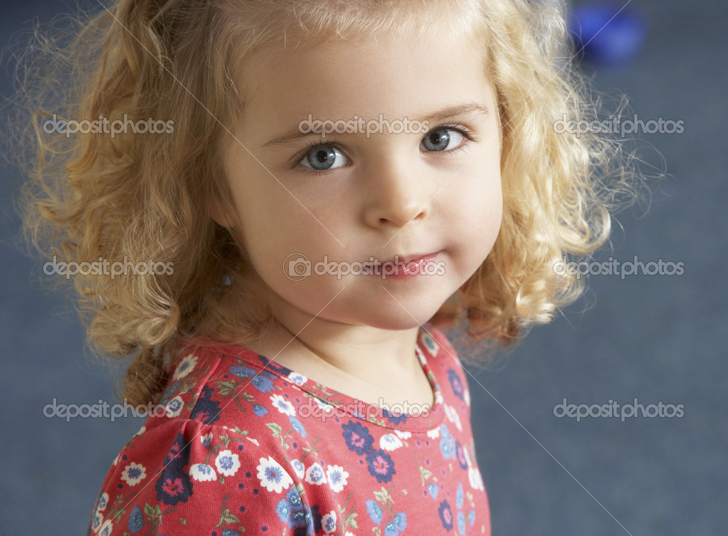 Portrait of pretty girl  Stockfoto #11882083