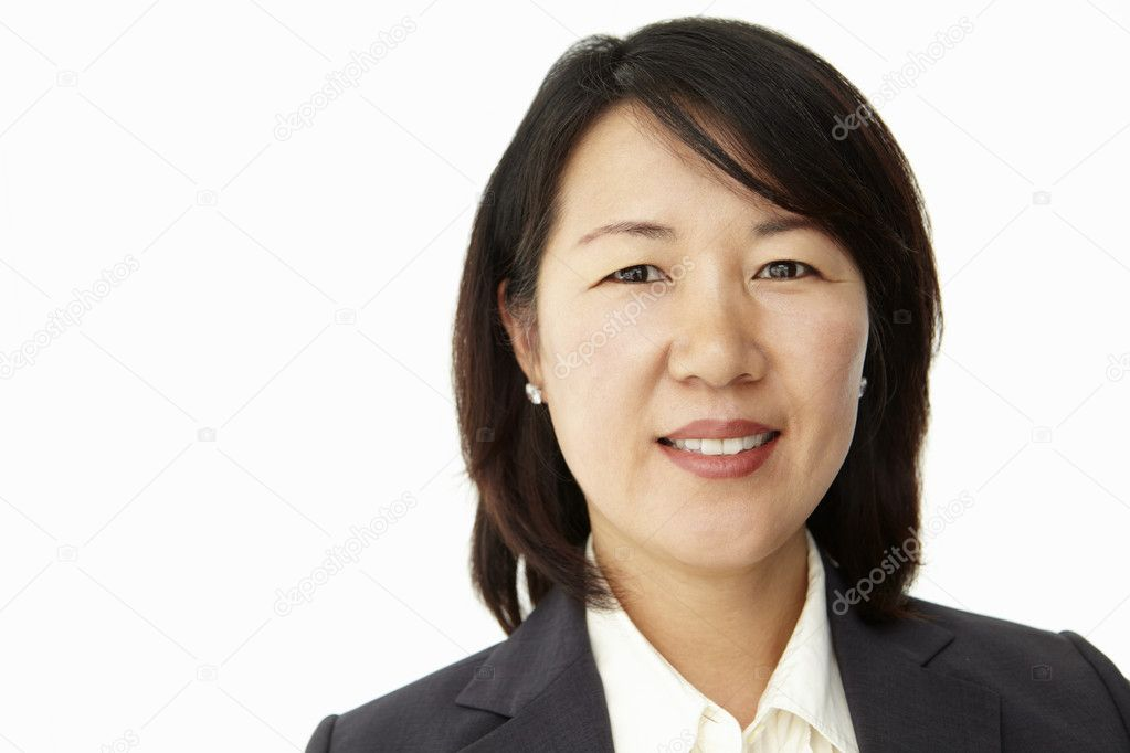 Portrait of business woman in suit — Stock Photo #11882390
