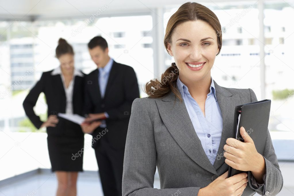 Confident businesswoman — Stock Photo #11883787