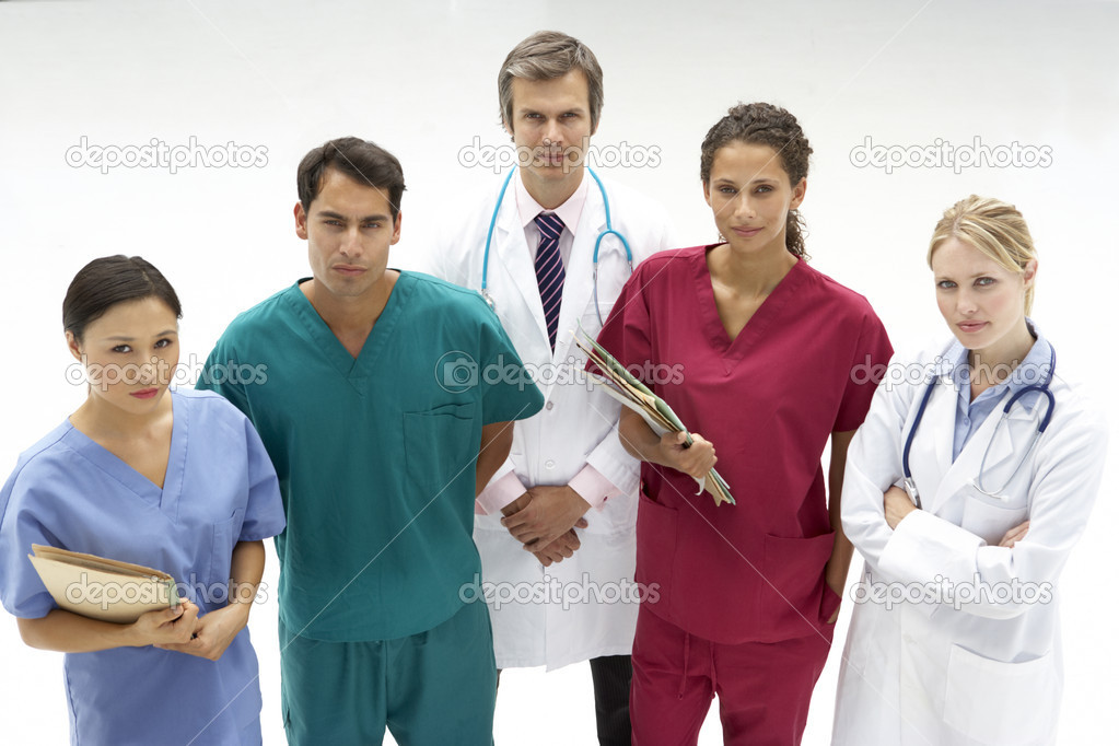 Group of medical professionals — Stock Photo #11886334