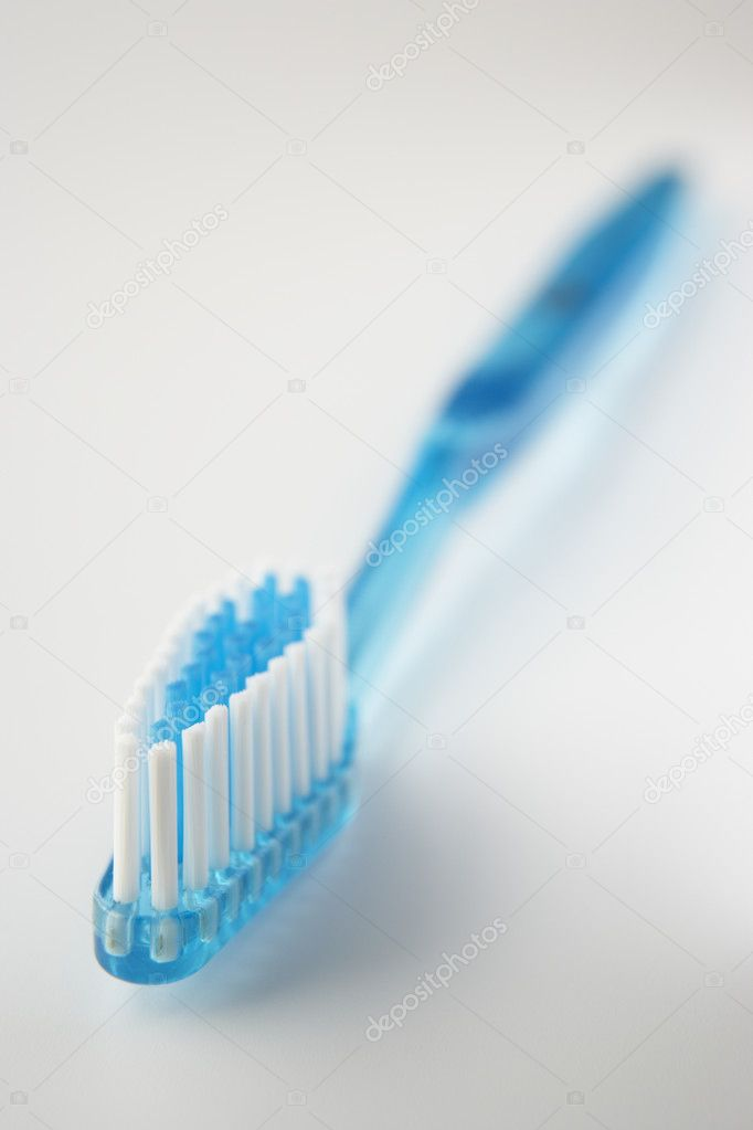 Blue toothbrush — Stock Photo #11887268