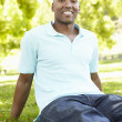 Young man portrait outdoors — Stock Photo #11890328