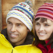 Middle Aged Couple Dressed For Cold Weather — Stock Photo #11892390