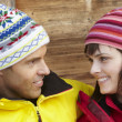 Middle Aged Couple Dressed For Cold Weather — Lizenzfreies Foto