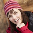 Middle Aged Woman Dressed For Cold Weather — Stock Photo
