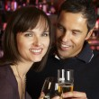 Couple Enjoying Drink Together In Bar — Stock Photo #11893563