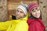 Middle Aged Couple Dressed For Cold Weather — Stock Photo