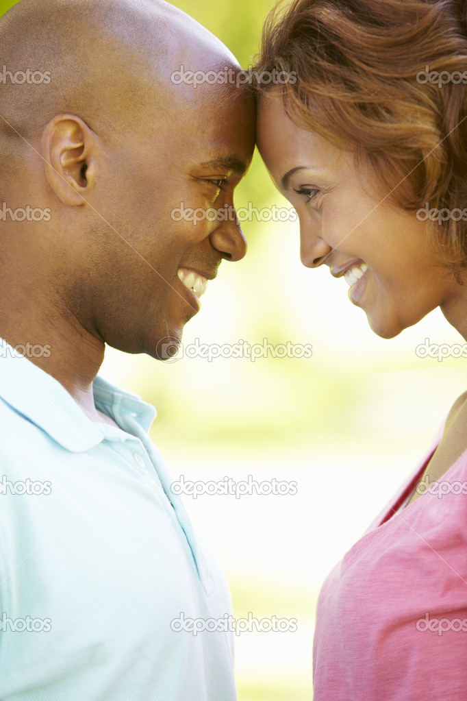 Young  couple romantic portrait — Stock Photo #11890338