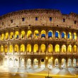 The Colosseum at night, Rome, Italy — Stock Photo #12161181