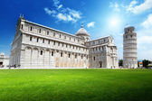The Leaning Tower, Pisa, Italy — Stock Photo